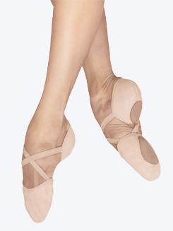 "Bloch ""Elastosplit X"" Canvas Ballet Shoe"